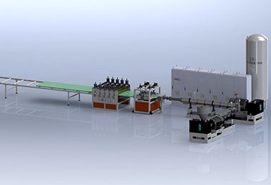 Extruded PET Foam Production Line