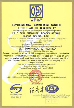 ISO 9001 Certificate and ISO 14001 Certificates-2